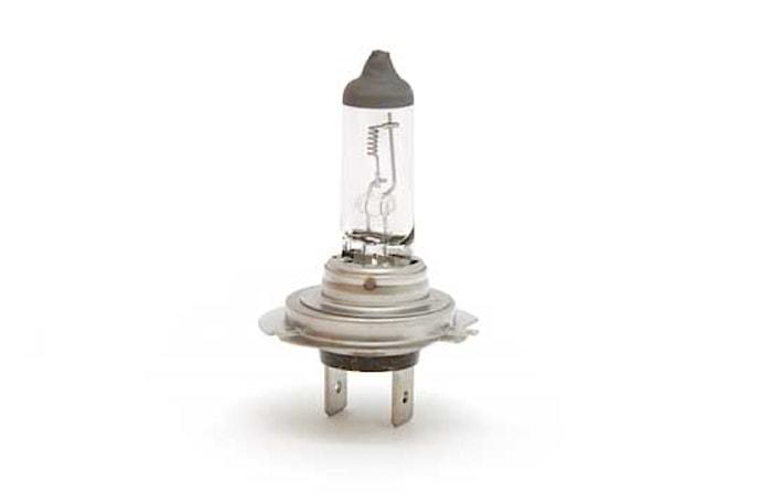 Halogenglödlampa H7 24V 70W MD