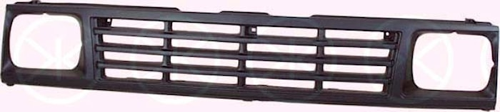 Kylargrill svart -89