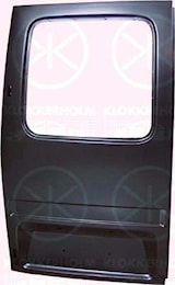 Bakdörr kpl m/hål(h:134