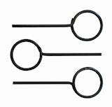 Arretierstifte-Satz Ø3 (3 Stüc