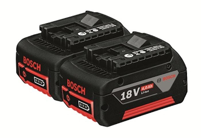 Batteri 2 X 4,0 AH