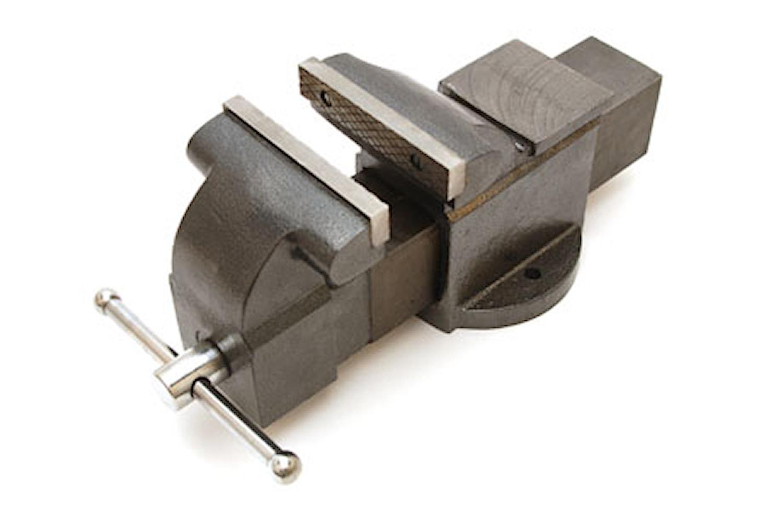 Skruvstycke av gjutjärn 200 mm