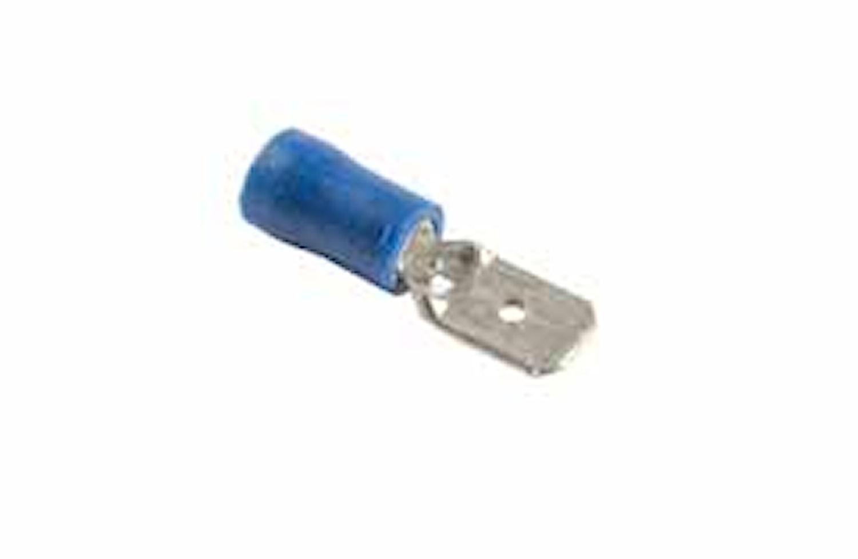 Flatstift 6,3x0,8mm blå