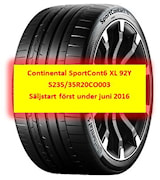 Continental SportCont6 XL 92Y