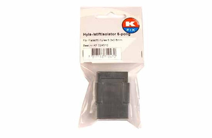 Hyls-/stiftisolator 6-polig