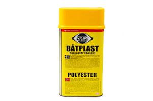 Båtplast polyester 1l