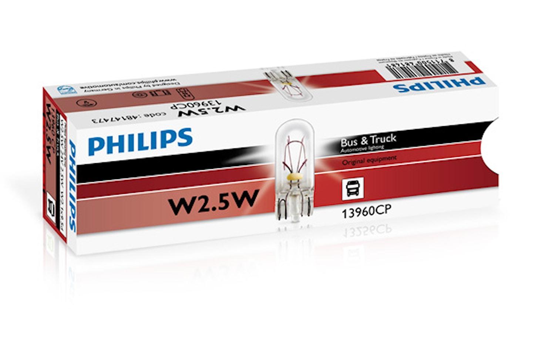Glödlampa 24V 2W W2,1x9,5d