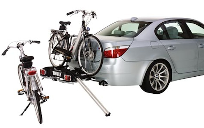 Ramp till cykelhållare