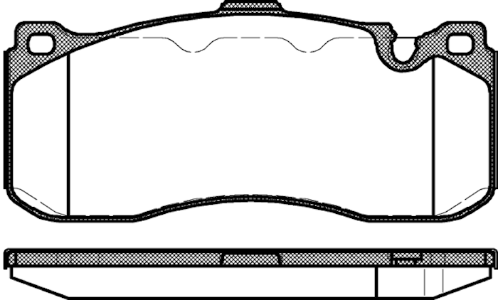 Bromsbelägg