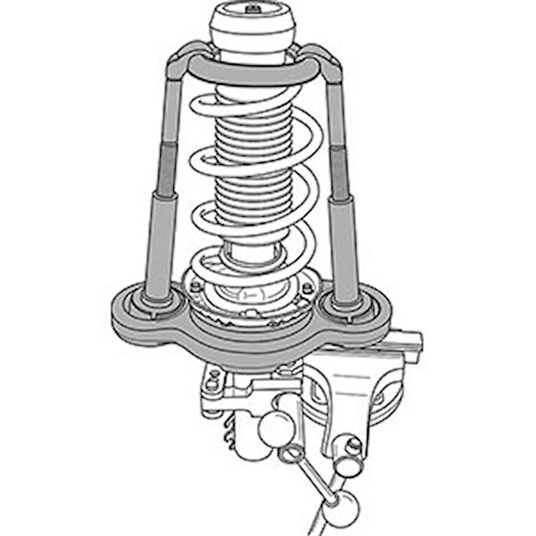 Fjäderspänningsverktyg VW-Audi