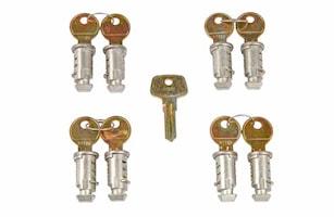 Låssats One Key-system 8-pack