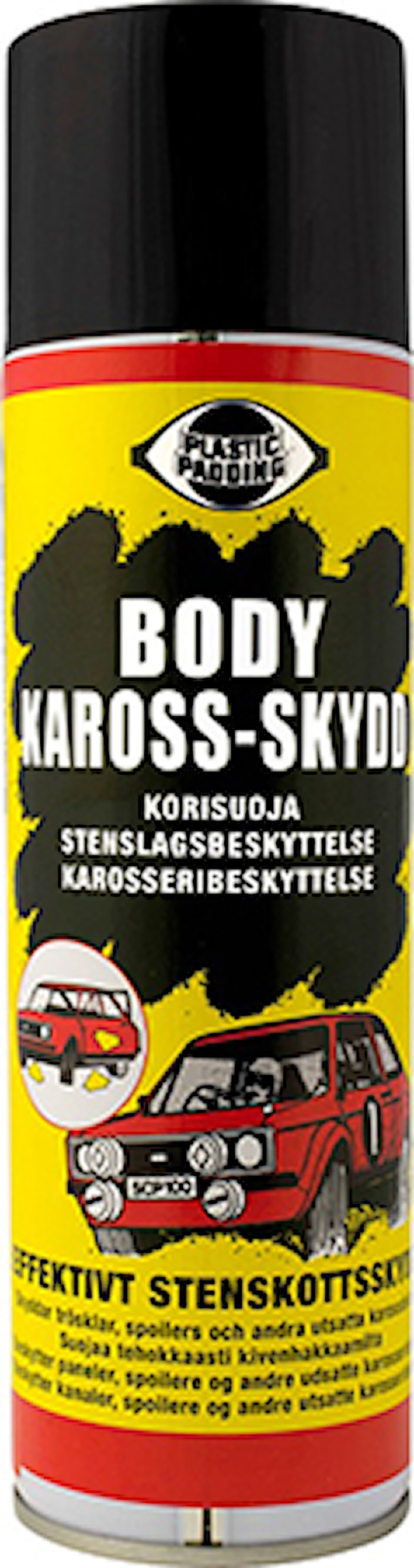 Body svart 500ml spray