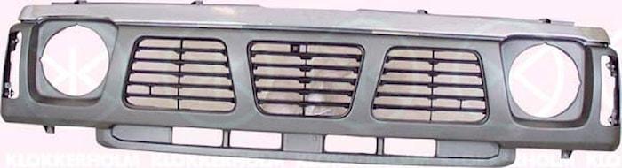 Kylargrill, svart/silver 93-