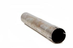 Stålrör 500 mm 3 tum