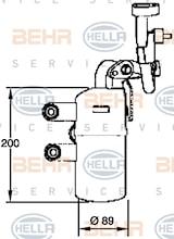 Torkfilter AC Volvo