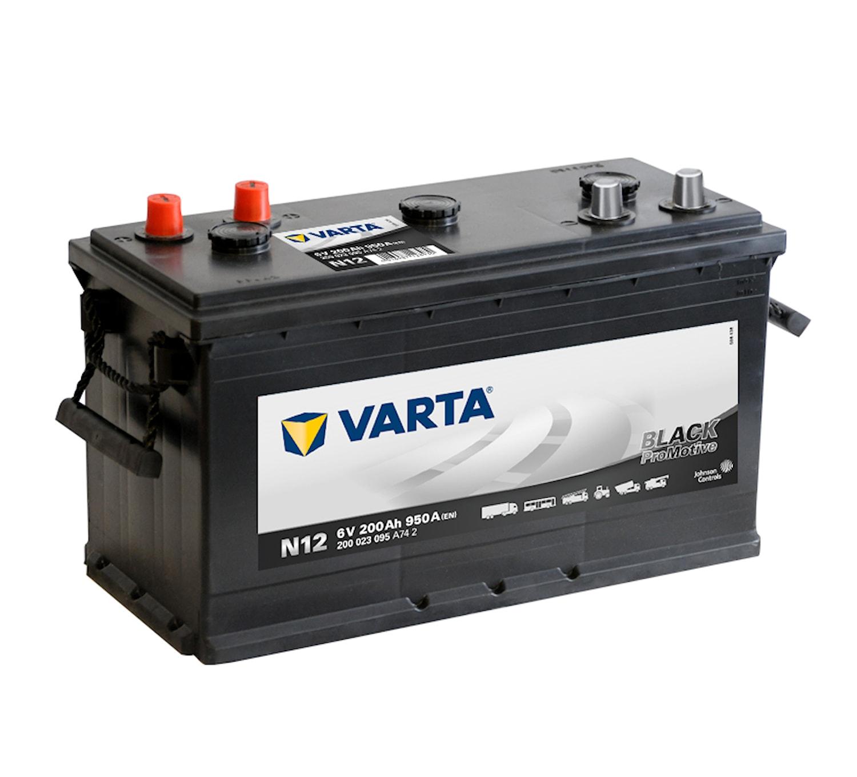 Batteri N12 PRO black VP200 6V
