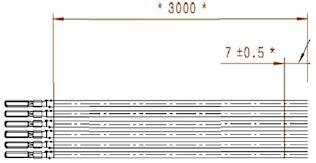 Kablage L:3 m UniControl