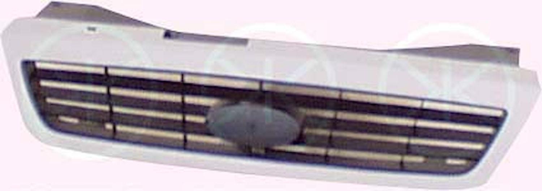Kylargrill svart/vit