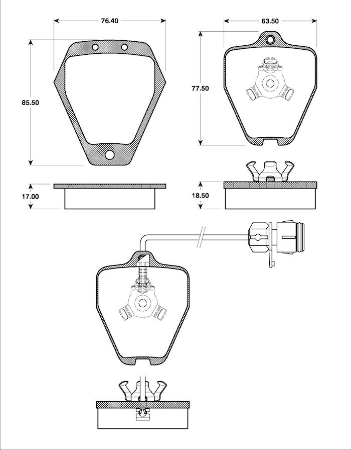 Belägg HP T1182