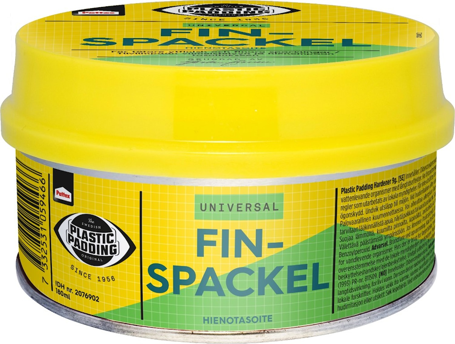PP FINSPACKEL 180ML BURK
