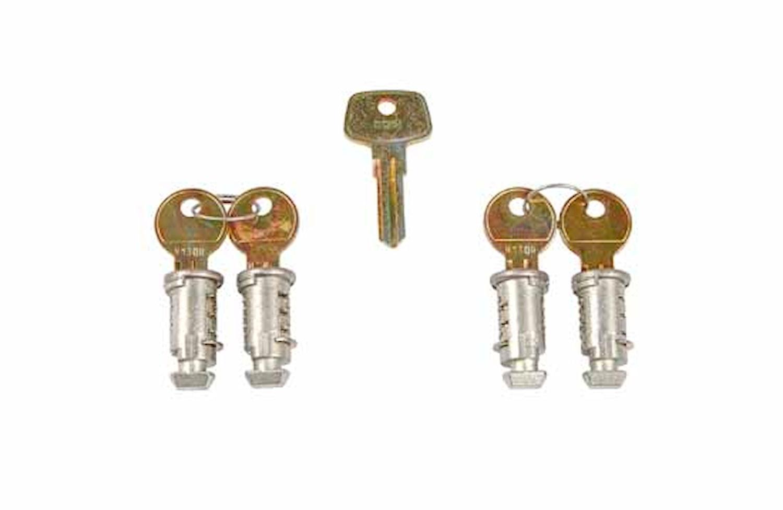 Låssats One Key-system 4-pack