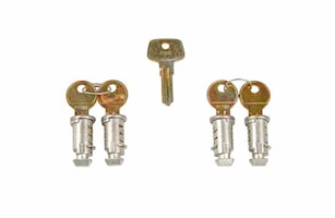 Låssats One Key-system 4-pack