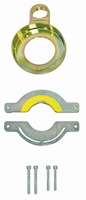 Ring jaw with clamping device