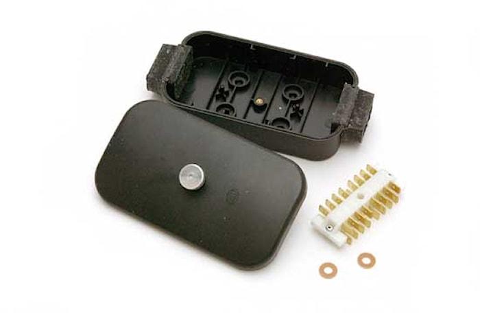 Kabelförbindn.box 8-pol flatst