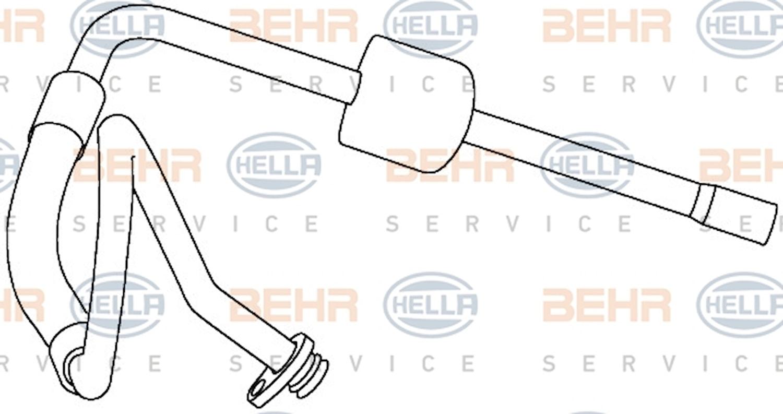 Rörsystem AC Förång-komp