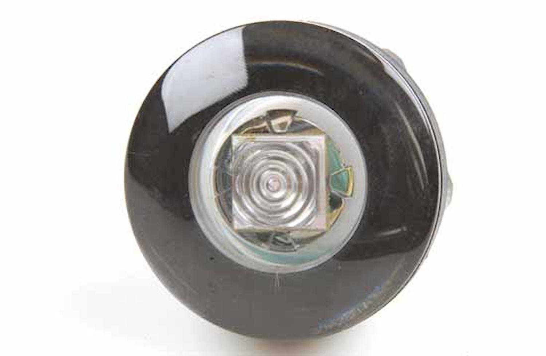 Flushbelysn 12V LED gul f inb
