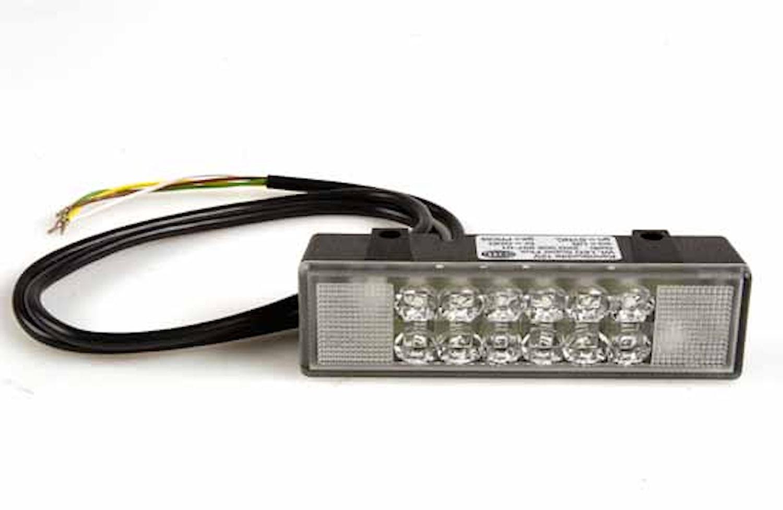 Blixtlykta 12V gul WL-LED