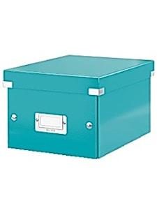 Förvaringslåda S Click&Store WOW isblå