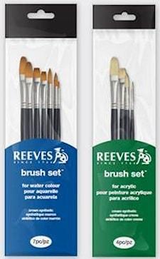 Reeves penslar, Beginner's brush set (SH) water colour - Beginner's brush set (SH) water colour