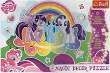 My Little Pony, Magic Dekor, 15 Bitar, Trefl