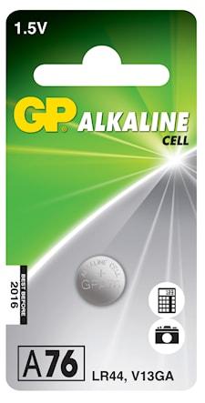 Batteri alkalisk special LR44/76A/LR1154/AG13 1,5V