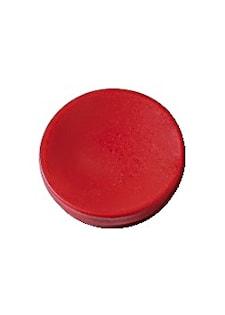 Magnetknappar Actual 25 mm röd 10/fp