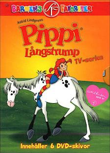 Pippi Långstrump TV-serien Box (Tecknad, 6-disc)