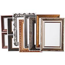 Ramar, 26,2x18,5 cm, 16 mixade ark, metallicfärger