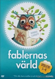 Fablernas värld Volym 1-4 Box