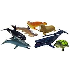 Sjödjur lekset 7-pack, Scanditoy