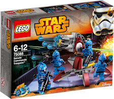 Senate Commando Troopers, Lego Star Wars (75088)