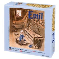 Stapla trägubbar, barnspel, Emil