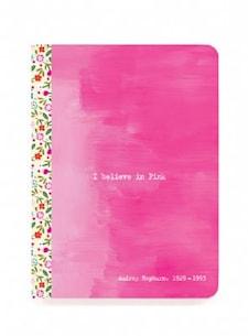 Pink Quote, Audrey Hepburn, The little notebook