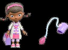 Dottie verenpainemittarin kanssa, minihahmo, Lääkäri McStuffins