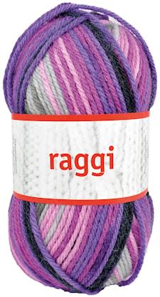 Raggi 100g Grå/Lila/Ceris/ Print
