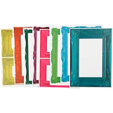 Ramar, 26,2x18,5 cm, 16 mixade ark, starka färger