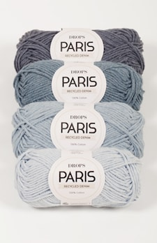 PARIS RECYCLED DENIM 101 light blue