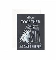 Salt & Pepper Card