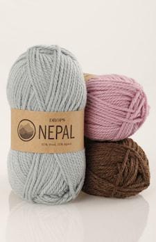 NEPAL UNICOLOR 6220 medium blue
