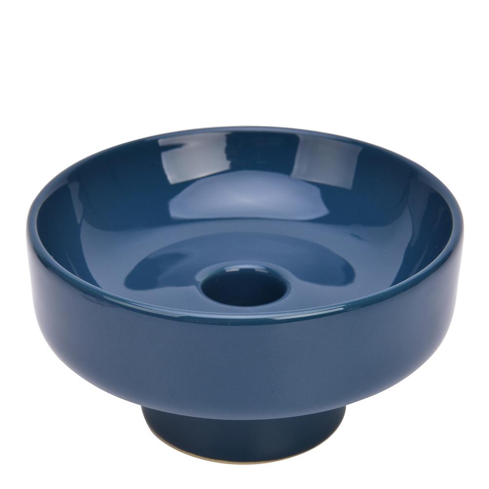Melissa Ljusstake 11,5 cm Blå keramik